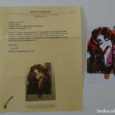 Arte: ANDY WARHOL FIRMADO A MANO CON CERTIFICADO DE AUTENTICIDAD (INTERÉS CHILLIDA, MIRÓ, DALI, PICASSO,... Lote 150980840