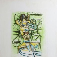 Arte: ENRICO BAJ - LITOGRAFIA. Lote 151038082