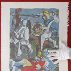 Arte: LITOGRAFÍA PABLO PICASSO LA BATALLA. Lote 151390622
