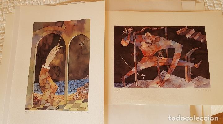 Arte: ANDREU ALFARO. MIQUEL CALATAYUD. MIQUEL NAVARRO. CARPETA 34/75 PER A MÚSICA 92.VALENCIA - Foto 2 - 151570094