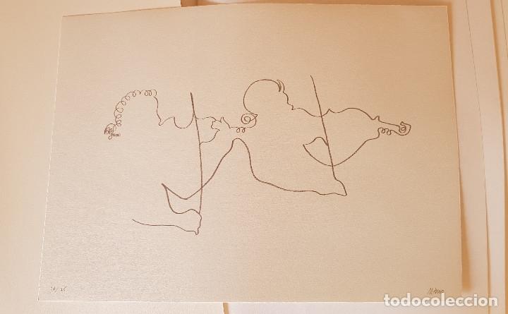 Arte: ANDREU ALFARO. MIQUEL CALATAYUD. MIQUEL NAVARRO. CARPETA 34/75 PER A MÚSICA 92.VALENCIA - Foto 4 - 151570094