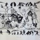 Arte: LITOGRAFIA DE RICARDO OPISSO, DIUMENGE DE RAMS. Lote 153077596
