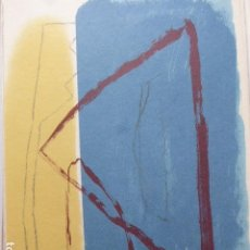 Arte: ALBERT RAFOLS CASAMADA. LITOGRAFIA ORIGINAL NUMERADA Y FIRMADA. H 568/1000. 32 X 45 CM. Lote 153222542