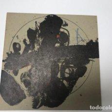 Arte: LITOGRAFIA ANTONI TÀPIES. U NO ÉS NINGÚ. PRESENTACIÓ LLIBRE. JOAN BROSSA. GALERIA JOAN PRATS. 1979. Lote 153495894