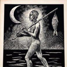 Arte: ROBERT LLIMOS - LITOGRAFÍA - 1985 - FIRMADA. Lote 153817446