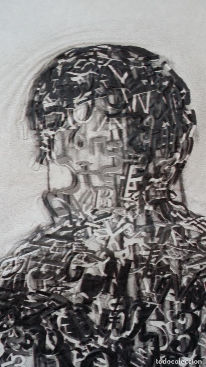 Arte: Jaume PLENSA: grabado técnica mixta, papel Japón, firmado y numerado, 2010 - Foto 6 - 154425042