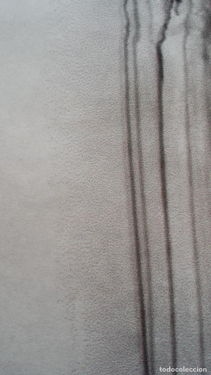 Arte: Jaume PLENSA: grabado técnica mixta, papel Japón, firmado y numerado, 2010 - Foto 15 - 154425042