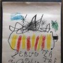 "Arte: LITOGRAFÍA "" PER UN TEATRE"" 1973 FIRMADA A LÁPIZ MIRO H.C. 75X55 CM PAPEL SALA GASPAR. Lote 154779538"