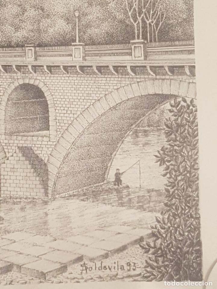 Arte: imagen san cristo y puente viejo de balaguer de a.soldevila - Foto 2 - 155396974