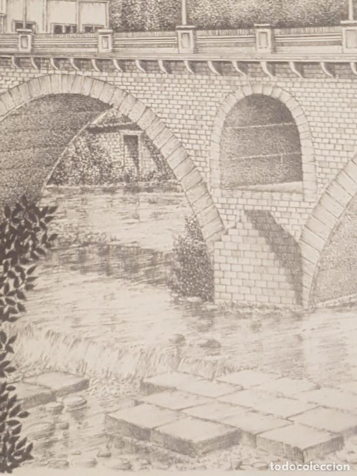Arte: imagen san cristo y puente viejo de balaguer de a.soldevila - Foto 4 - 155396974