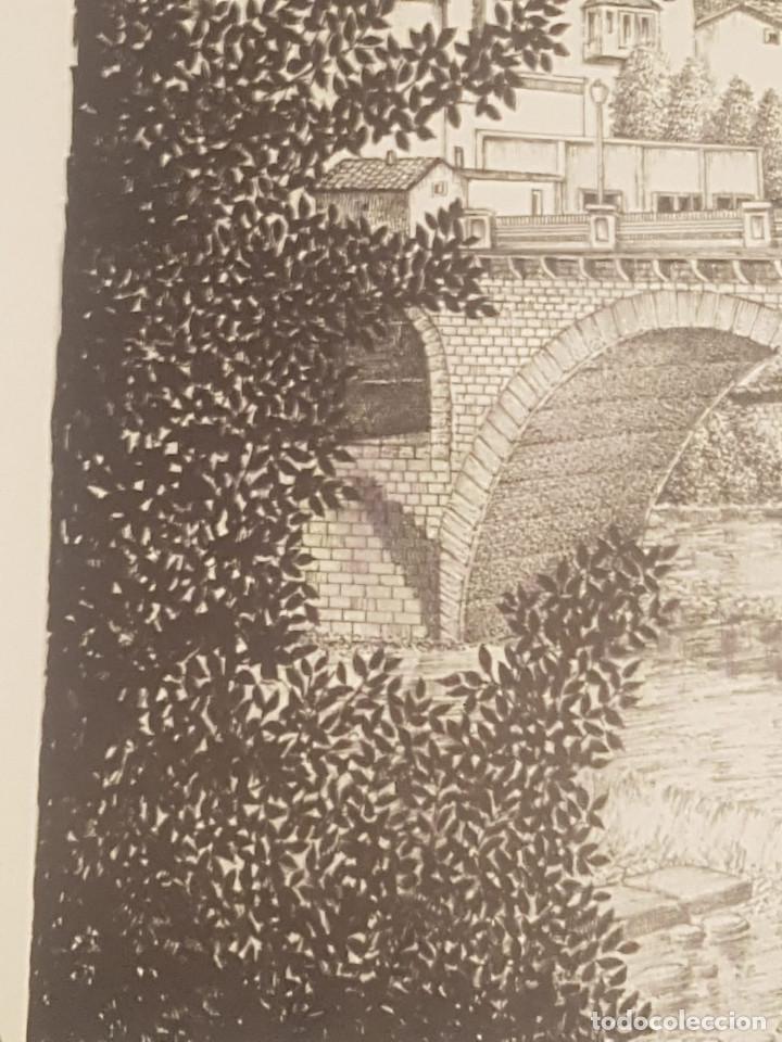 Arte: imagen san cristo y puente viejo de balaguer de a.soldevila - Foto 5 - 155396974