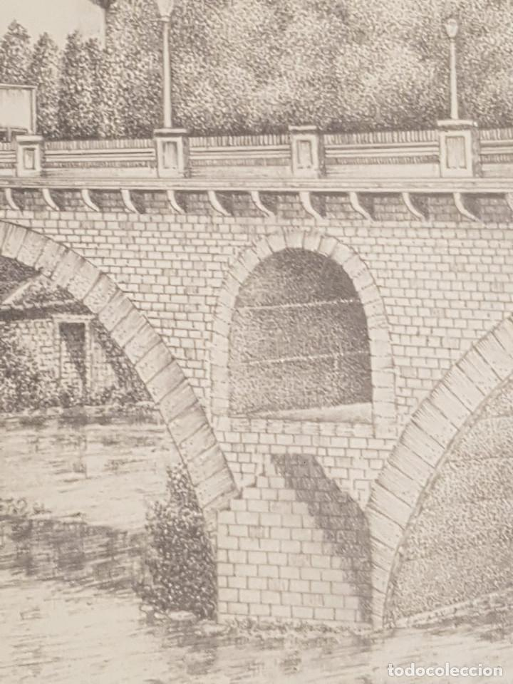 Arte: imagen san cristo y puente viejo de balaguer de a.soldevila - Foto 6 - 155396974