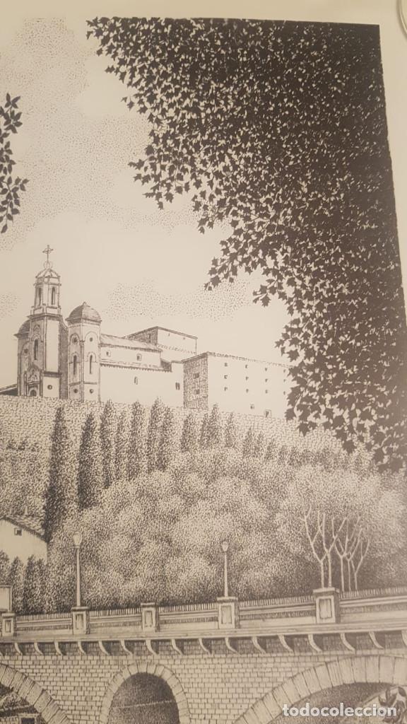 Arte: imagen san cristo y puente viejo de balaguer de a.soldevila - Foto 8 - 155396974