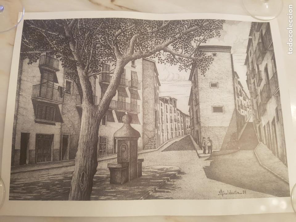 IMAGEN ANTIGUA DE BALAGUER DE A.SOLDEVILA (Arte - Litografías)