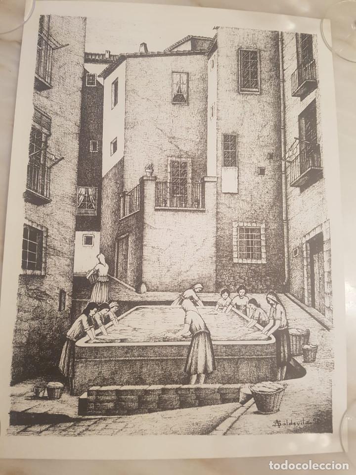 IMAGEN REGUERETA DE BALAGUER DE A.SOLDEVILA (Arte - Litografías)