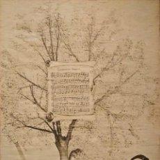 Arte: GUERNIKAKO ARBOLA, LITOGRAFÍA CON PARTITURA E IMAGEN DE SU COMPOSITOR J.M. IPARRAGUIRRE. Lote 155632614