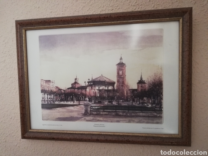 CUADRO LITOGRAFIA VENANCIO ARRIBAS (Arte - Litografías)