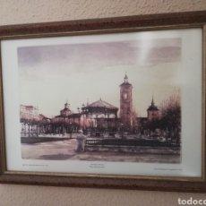 Arte: CUADRO LITOGRAFIA VENANCIO ARRIBAS. Lote 155637622