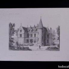 Arte: VILLA A. PASSY (PARIS). Lote 155679806