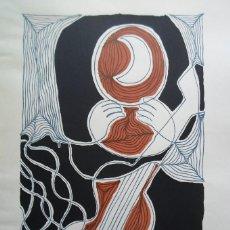 Arte: PEDRO SOBRADO (TORRELAVEGA, CANTABRIA 1936) LITOGRAFÍA DE 36X51CMS FIRMADA LÁPIZ Y 135/150 SANTANDER. Lote 155840734