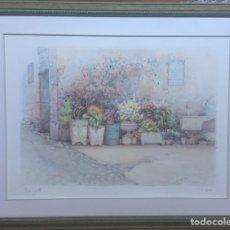 Arte: LITOGRAFÍA F,NERI. 88X66CM. Lote 157304908