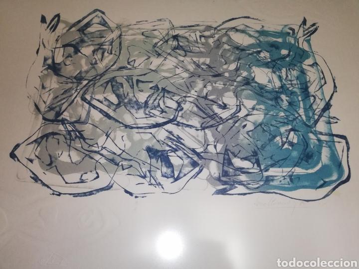 CUADRO LITOGRAFIA FIRMADA Y NUMERADA (RECOGER EN TIENDA) (Arte - Litografías)