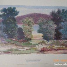 Arte: CARTEL POSTER PAISAJE DE FRIEDBERT RENBAUM, 1993 CANADA 50X70,. Lote 157890402