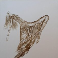 Arte: LITOGRAFIA FIRMADA Y NUMERADA. Lote 158354586