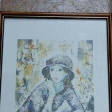 Art: JOSEP M. MORATÓ ARAGONÈS (REUS 1923 - BARCELONA 2006). LITOGRAFIA NUMERADA Y FIRMADA POR EL AUTOR. Lote 158446625