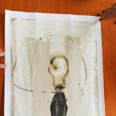 Arte: REPRODUCCION OBRA DE AGUSTI PUIG 80 X 41 CM, REGALO 45 ANIVERSARIO ENHER A SUS EMPLEADOS 1992. Lote 158777406
