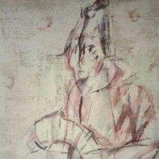 Arte: KURT STEINEL. THE HARLEQUIN.. Lote 159353284