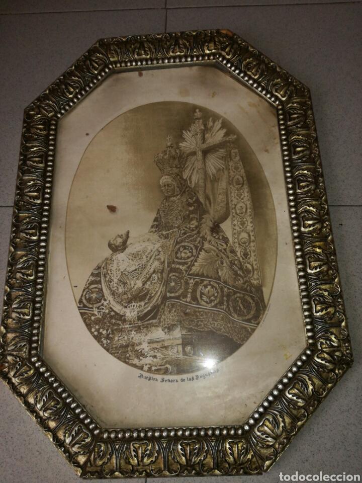 ANTIGUA LITOGRAFÍA N. SRA. DE LAS ANGUSTIAS DE S. BERDONES (Arte - Litografías)