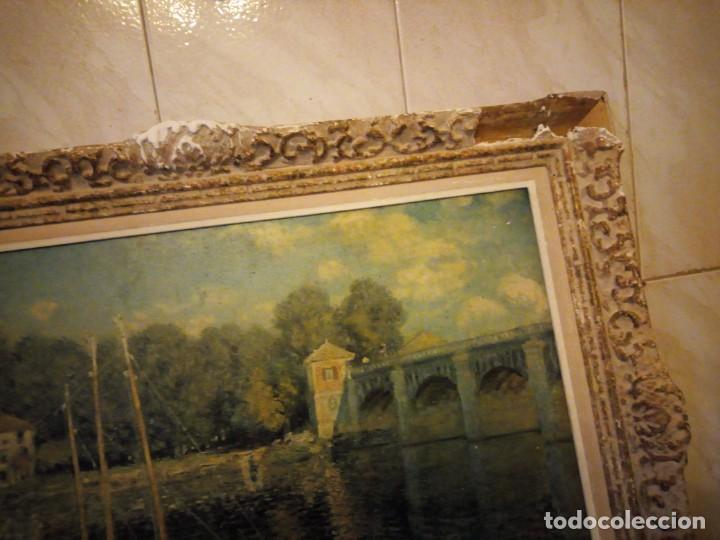 Arte: litografia, claude monet le pont dargenteuil musée de limpressionnisme,paris - Foto 3 - 159419706