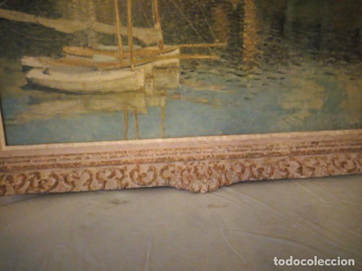 Arte: litografia, claude monet le pont dargenteuil musée de limpressionnisme,paris - Foto 4 - 159419706