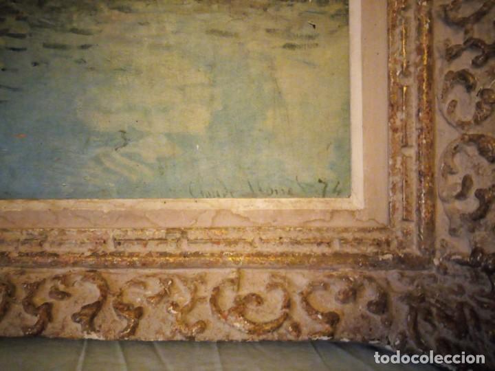 Arte: litografia, claude monet le pont dargenteuil musée de limpressionnisme,paris - Foto 5 - 159419706