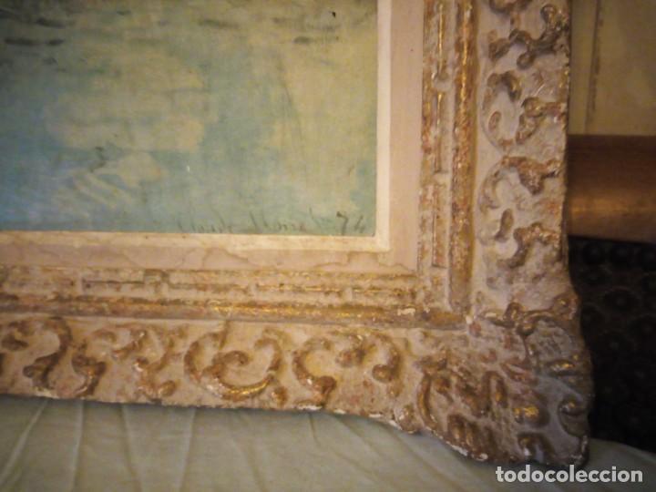Arte: litografia, claude monet le pont dargenteuil musée de limpressionnisme,paris - Foto 6 - 159419706