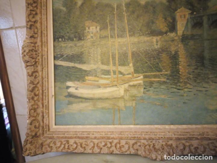 Arte: litografia, claude monet le pont dargenteuil musée de limpressionnisme,paris - Foto 7 - 159419706