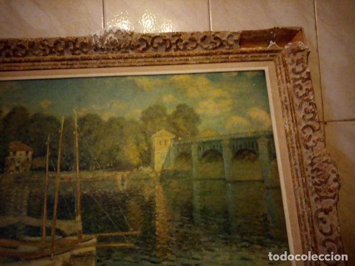 Arte: litografia, claude monet le pont dargenteuil musée de limpressionnisme,paris - Foto 9 - 159419706