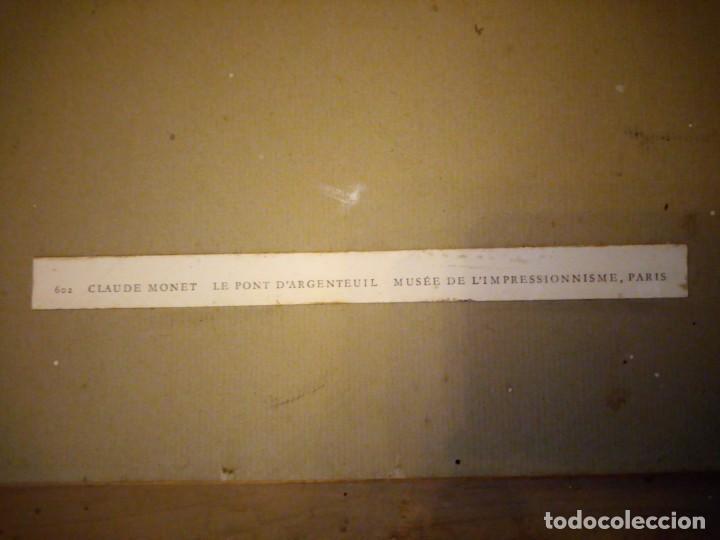 Arte: litografia, claude monet le pont dargenteuil musée de limpressionnisme,paris - Foto 14 - 159419706