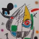 Arte: JOAN MIRÓ, VARIACIONES ACRÓSTICAS, PLANCHA XX, CRAMER 211 / MOURLOT 1063. Lote 161316056