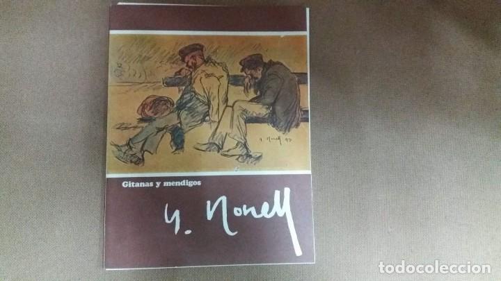 ISIDRO NONELL - CARPETA CON 4 LAMINAS GITANAS Y MENDIGOS 23 X 30 CMS (Arte - Litografías)