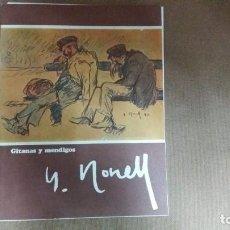 Arte: ISIDRO NONELL - CARPETA CON 4 LAMINAS GITANAS Y MENDIGOS 23 X 30 CMS . Lote 159684342
