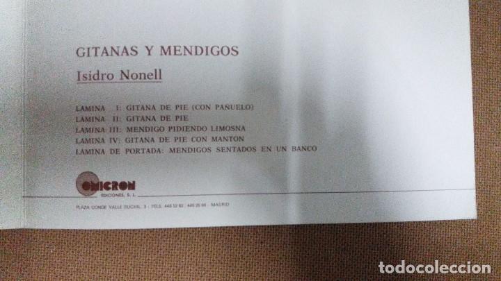 Arte: ISIDRO NONELL - CARPETA CON 4 LAMINAS GITANAS Y MENDIGOS 23 x 30 cms - Foto 2 - 159684342