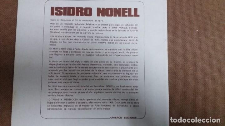Arte: ISIDRO NONELL - CARPETA CON 4 LAMINAS GITANAS Y MENDIGOS 23 x 30 cms - Foto 3 - 159684342