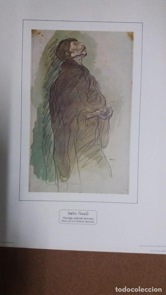 Arte: ISIDRO NONELL - CARPETA CON 4 LAMINAS GITANAS Y MENDIGOS 23 x 30 cms - Foto 6 - 159684342