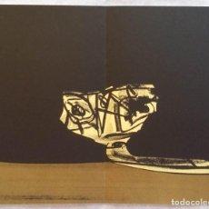 Arte: ANTONIO SAURA / ANDRÉ VELTER: L'ENFER ET LES FLEURS 3/ LITOGRAFÍA EN ARCHÉS, 40 EJEMPLARES / 1988. Lote 159768822