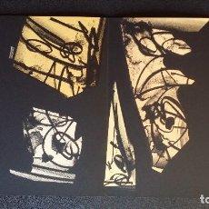 Arte: ANTONIO SAURA / ANDRÉ VELTER: L'ENFER ET LES FLEURS 2 / LITOGRAFÍA EN ARCHÉS, 40 EJEMPLARES / 1988. Lote 159769362