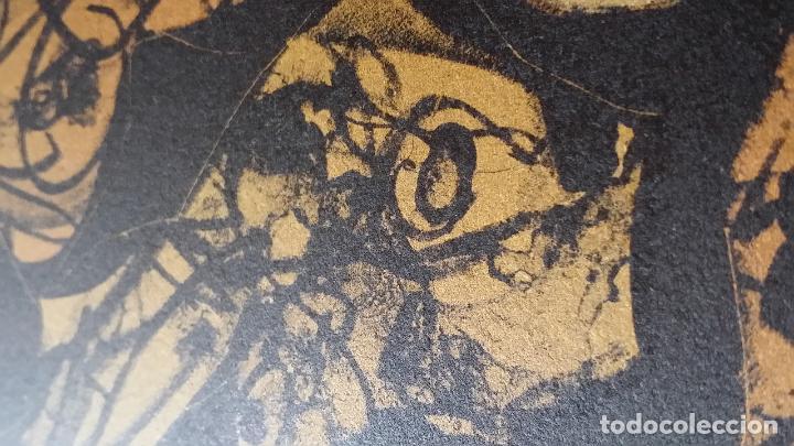 Arte: Antonio SAURA / André Velter: L'enfer et les fleurs 4 / litografía en Archés, 40 ejemplares / 1988 - Foto 4 - 159769846