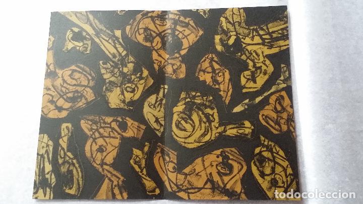 Arte: Antonio SAURA / André Velter: L'enfer et les fleurs 4 / litografía en Archés, 40 ejemplares / 1988 - Foto 6 - 159769846