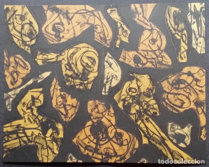Arte: Antonio SAURA / André Velter: L'enfer et les fleurs 4 / litografía en Archés, 40 ejemplares / 1988 - Foto 10 - 159769846